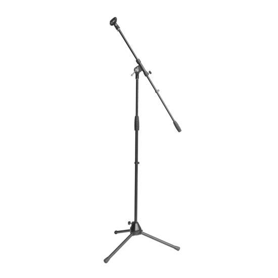 Pyle - PMKS2 , Musical Instruments , Mounts - Stands - Holders , Sound and Recording , Mounts - Stands - Holders , Universal Microphone Stand Mic Mount Holder, Height & Boom Extension Adjustable