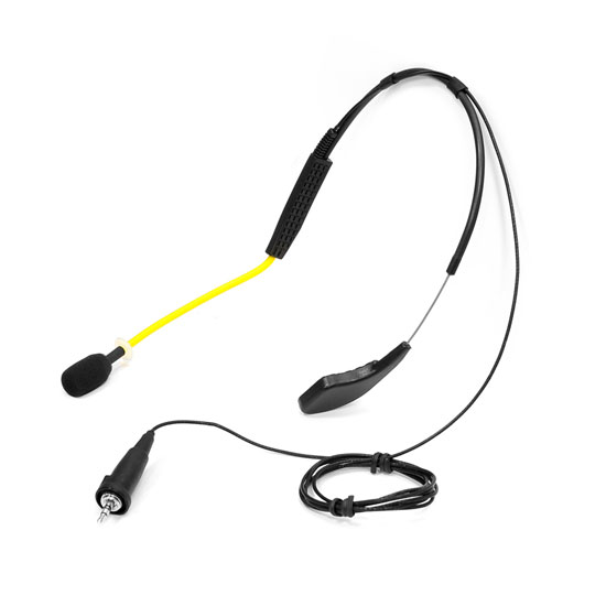 Pyle - PMKWP2 , Musical Instruments , Microphones - Headsets , Sound and Recording , Microphones - Headsets , Flexible Waterproof/Sweatproof Headset Microphone for Exercise and Fitness, Condensor, Omni-Directional (Sennheiser Connector) Fitness +