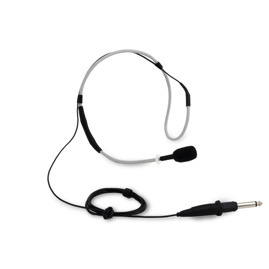 Pyle - PMKWPR8 , Musical Instruments , Microphones - Headsets , Sound and Recording , Microphones - Headsets , Flexible Waterproof/Sweatproof Headset Microphone for Exercise and Fitness, Condensor, Omni-Directional, Standard 3.5mm Connector Jack, Trainer +