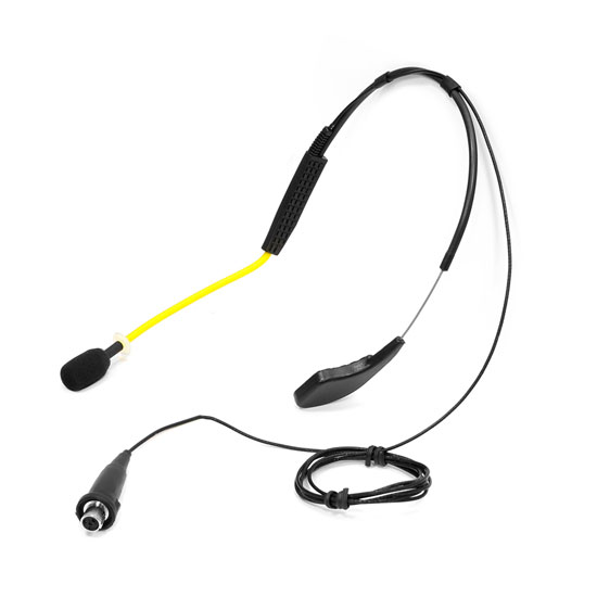 Pyle - PMKWS3 , Musical Instruments , Microphones - Headsets , Sound and Recording , Microphones - Headsets , Flexible Waterproof/Sweatproof Headset Microphone for Exercise and Fitness, Condensor, Omni-Directional (Shure Connector) Fitness +