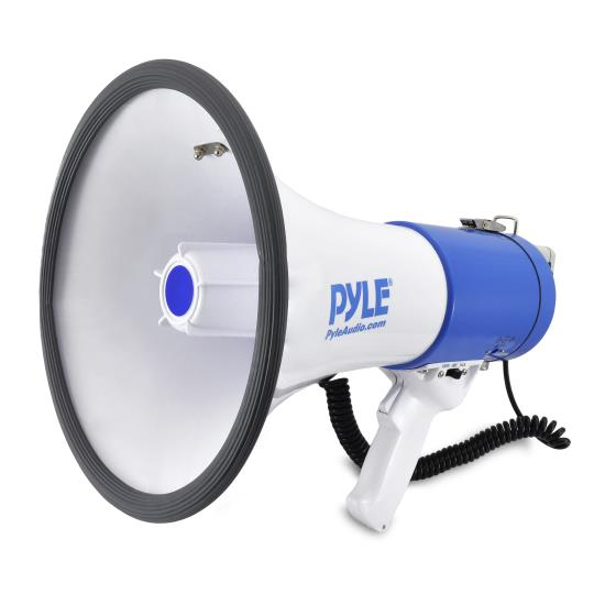 Pyle - PMP50 , Home and Office , Megaphones - Bullhorns , Sound and Recording , Megaphones - Bullhorns , Megaphone PA Bullhorn with Built-in Siren, Adjustable Volume Control and 1,200 Yard Range