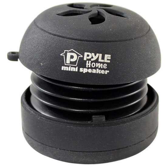 Pyle - PMS2B , Home Audio / Video , i-Pod - MP3 Mini Speakers , Mini Capsule Rechargeable Speaker for iPod/ MP3/MP4/Computer/Laptop/Notebook/Audio/Gaming-Devices/PDA (Black)