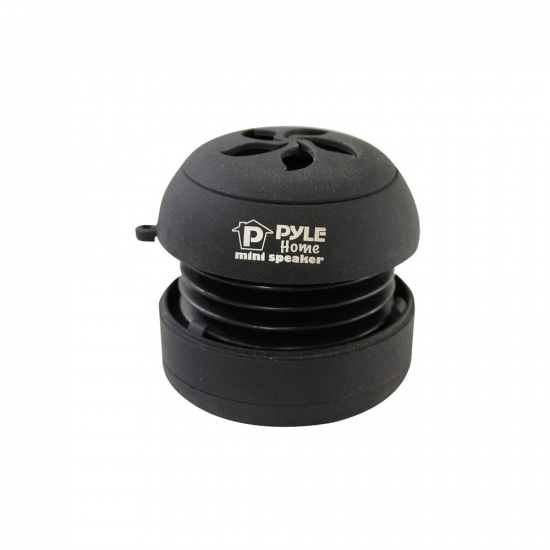 Pyle - PMS5DB , Home Audio / Video , i-Pod - MP3 Mini Speakers , Bass Expanding Rechargeable Mini Speakers Pair for iPod/MP3/Computers  (Black)