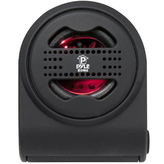Pyle - PMS7B , Marine and Waterproof , Portable Speakers - Boom Boxes , Bass Expanding Chainable Rechargeable Mini Speakers For IPod/IPhone/MP3/Computer (Black)