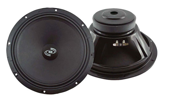 """Pyle - PMW12A , Sound and Recording , Subwoofers - Midbass , 12"""" High Power High Performance Midbass Driver Speaker"""