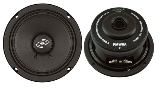 Pyle - PMW6A , Sound and Recording , Subwoofers - Midbass , 6.5'' High Power High Performance Woofer
