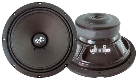 Pyle - PMW8A , DJ Equipment , Midbass/Midrange Speakers/Woofers  , 8'' Paper Cone Mid-woofer