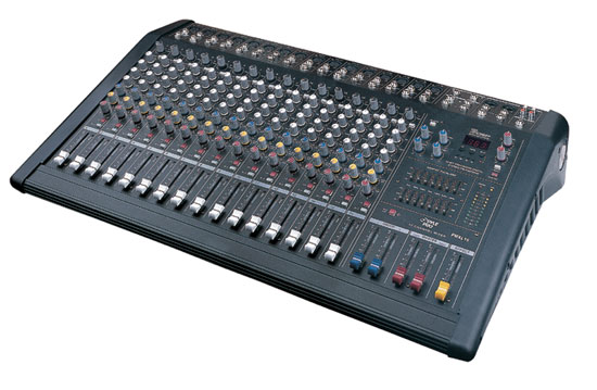 Pyle - PMXL16 , DJ Equipment , DJ Mixers , 16 Channel 1600 Watts Digital (DSP) Powered Mixer