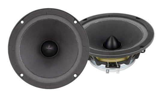 Pyle - PNDW6 , DJ Equipment , Midbass/Midrange Speakers/Woofers  , 6.5'' High Power High Performance Neodymium Midbass