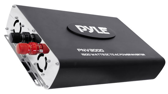 Pyle - PNV3000 , Home and Office , Power Supply - Power Converters , On the Road , Power Supply - Power Converters , Plug In Car 3000 Watts 12v DC to 115V AC power inverter with modified sine wave