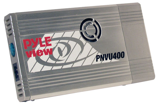 Pyle - PNVU400 , Home and Office , Power Supply - Converters , On the Road , Power Supply - Converters , Plug In Car Compact 240 Watt Power Inverter DC/AC