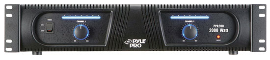Pyle - PPA200 , DJ Equipment , Power Amplifiers , 19'' Rack 2000 Watt Professional DJ Power Amplifier