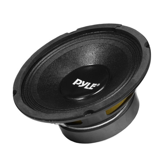 Pyle - PPA8 , DJ Equipment , Premium Replacement  Woofers , 500 Watt Professional Premium PA 8'' Woofer