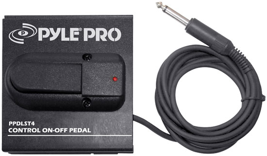 Pyle - PPDLST4 , Disc , Heavy Duty On/Off Pedal For Keyboards/Guitars/Amps And Synthesizers