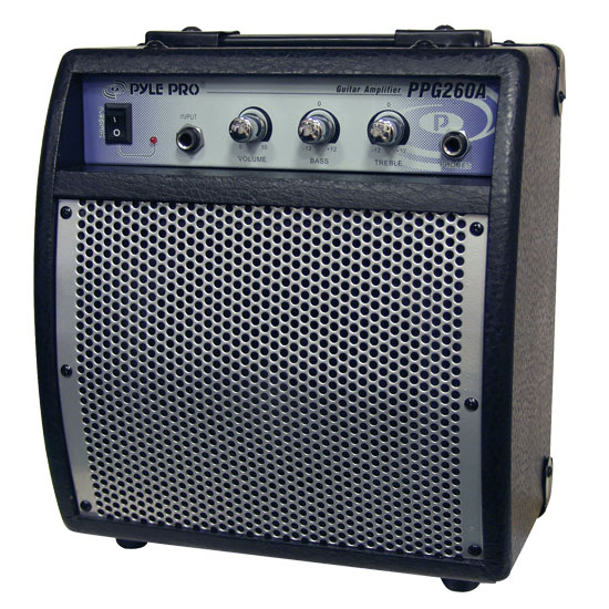Pyle - PPG260A , DJ Equipment , Guitar Amplifiers , 80 Watts Portable Guitar Amplifier