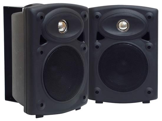 two way shielded amplified studio monitors wall mount ceiling speakers speakers. Black Bedroom Furniture Sets. Home Design Ideas