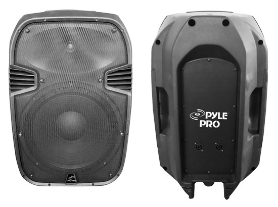 Pyle - PPHP1095 , DJ Equipment , DJ Speakers , 600 Watts 10'' 2 Way Plastic Molded Speaker System