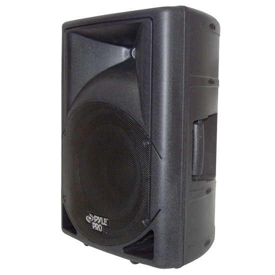Pyle - PPHP123M , DJ Equipment , DJ Speakers , 12'' 800 Watt Powered 2 Way Full Range Loud Speaker System w/Built in USB/MP3 Player