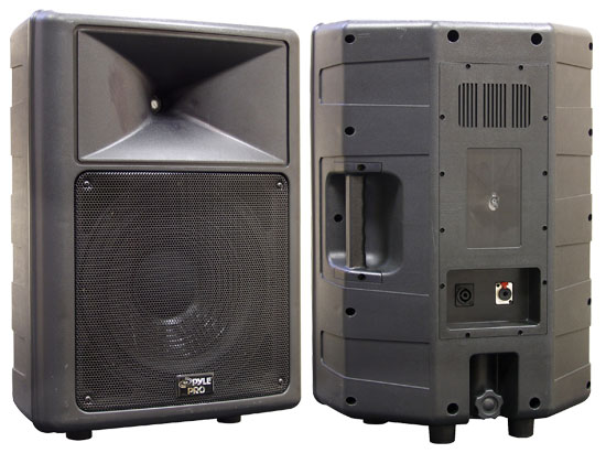 Pyle - PPHP1259 , Sound and Recording , PA Loudspeakers - Cabinet Speakers , 500 Watt 12'' 2 Way Full Range Loud PA Speaker
