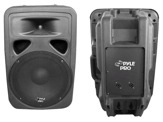 Pyle - PPHP1293 , DJ Equipment , DJ Speakers , 800 Watt 12'' Two-Way Plastic Molded Loudspeaker