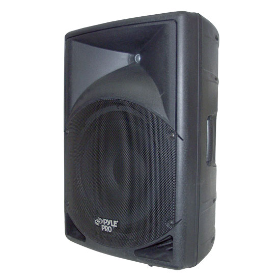 Pyle - PPHP150A , DJ Equipment , DJ Speakers , 15'' 1200 Watt Powered  2 Way Full Range Loud Speaker System