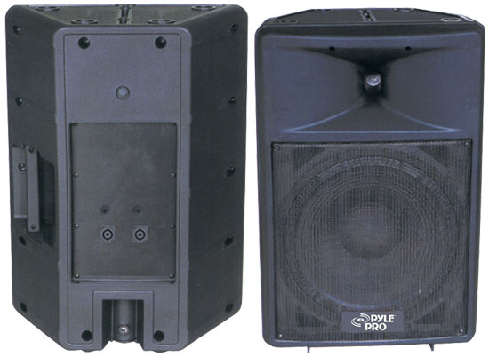 Pyle - PPHP1590 , Sound and Recording , PA Loudspeakers - Cabinet Speakers , 1000 Watt 15'' Two-Way Plastic Molded Loudspeaker