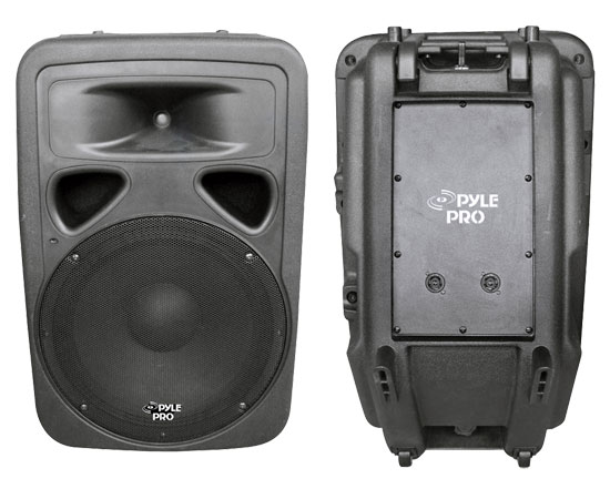 Pyle - PPHP1593 , DJ Equipment , DJ Speakers , 1000 Watt 15'' Two-Way PA Speaker