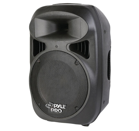 Pyle - PPHP1599AI , Sound and Recording , PA Loudspeakers - Molded Cabinet Systems , 15'' 1600 Watt 2-Way Full Range Loud Speaker System with iPod Dock, USB Reader & MP3/AUX Input