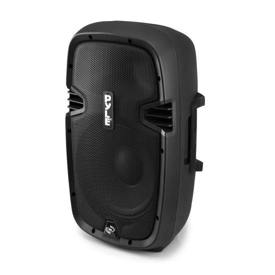 Pyle - PPHP803MU , DJ Equipment , DJ Speakers , 8'' 600 Watt Powered Two-Way PA Speaker with MP3/USB/3.5mm Input