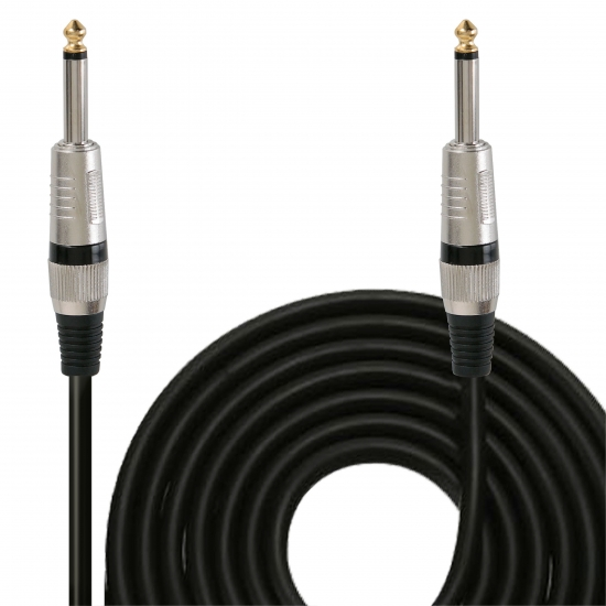 Pyle - PPJJ15 , DJ Equipment , Professional Audio Cables , 15ft. 12 Gauge Professional Speaker Cable 1/4'' to 1/4''