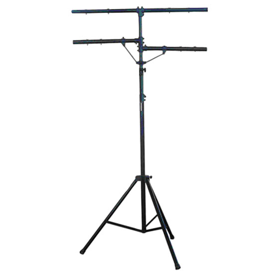 Pyle - PPLS203 , DJ Equipment , Stands , DJ Lighting Tripod Stand w/T-bar/Dual Side Bar