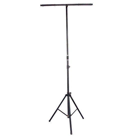 Pyle - PPLS206 , DJ Equipment , Stands , DJ Lighting Tripod Stand w/T-bar