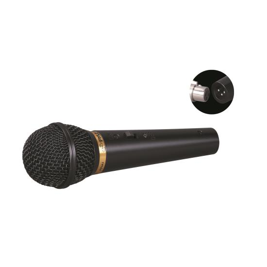 Pyle - PPMIK , Musical Instruments , Microphones - Headsets , Sound and Recording , Microphones - Headsets , Dynamic Microphone, Handheld Unidirectional Mic with 15' ft. XLR Cable