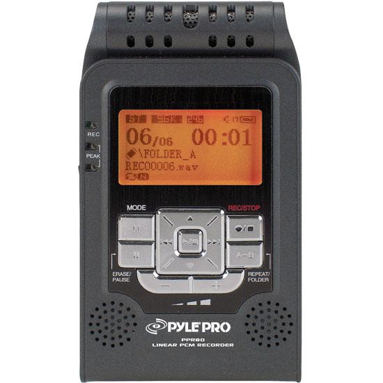 Pyle - PPR80 , Disc , Linear PCM Recorder