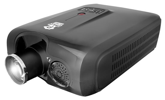Pyle - PRJ3D79 , Home and Office , Projectors , Widescreen Projector with Up To 150-Inch Viewing Screen, Built-In Speakers & Accepts 1080p Signal