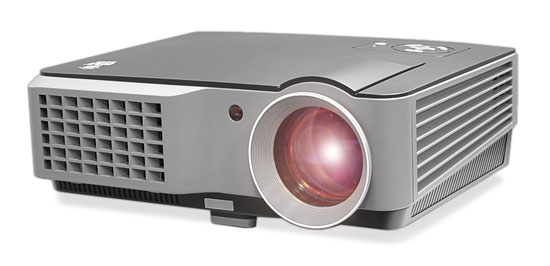 Pyle - PRJD902 , Home and Office , Projectors , Widescreen LED Projector with up to 140-Inch Viewing Screen, Built-In Speakers, USB Flash Reader & Supports 1080p