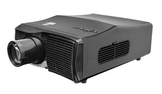 Pyle - PRJLE44 , Home and Office , Projectors , LED Widescreen Projector, 1080p Support, Up To 100-Inch Projection Display View, Built-In Speakers, HDMI, VGA, RCA, YPbPr Inputs, Remote Control