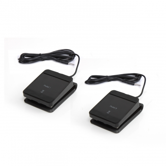 Pyle - PRTPTED06DFP , Parts , Replacement Digital Drum Foot Pedals (for Pyle Model: PTED06)