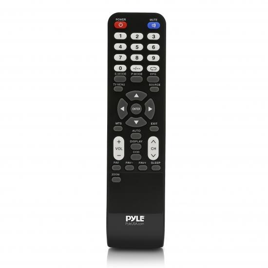 Pyle - PRTPTVLEDRC , Parts , Replacement Part - Remote Control (for Pyle TV Models: PTVLED15, PTVLED18, PTVLED21, PTVLED23, PTVLED32 PTVLED50)