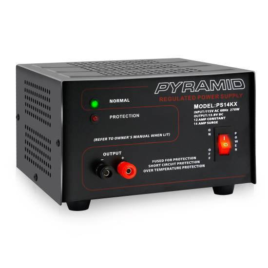 Pyle - PS14KX , Home and Office , Power Supply - Power Converters , Bench Power Supply - AC-to-DC Power Converter (12 Amp)