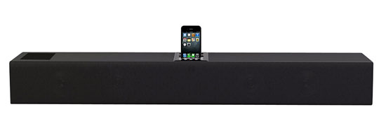 Pyle - PSB90I , Home Audio / Video , iPod Tower Systems , iPhone/iPod 2.1 Soundbar Docking System with Aux-In and Video Output