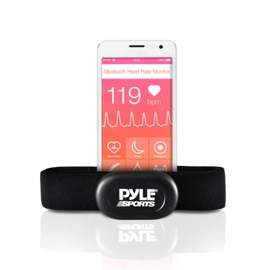 Pyle - PSBTHR60 , Sports and Outdoors , Fitness and Training Sensors , Gadgets and Handheld , Fitness and Training Sensors , Bluetooth Wireless Sport Training Heart Rate Monitor & Transmitter