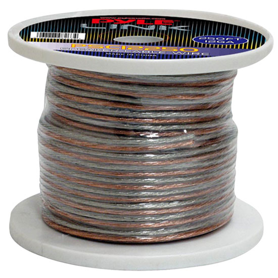 Pyle - PSC12250 , Sound and Recording , Cables - Wiring - Adapters , 12 Gauge 250 ft. Spool of High Quality Speaker Zip Wire