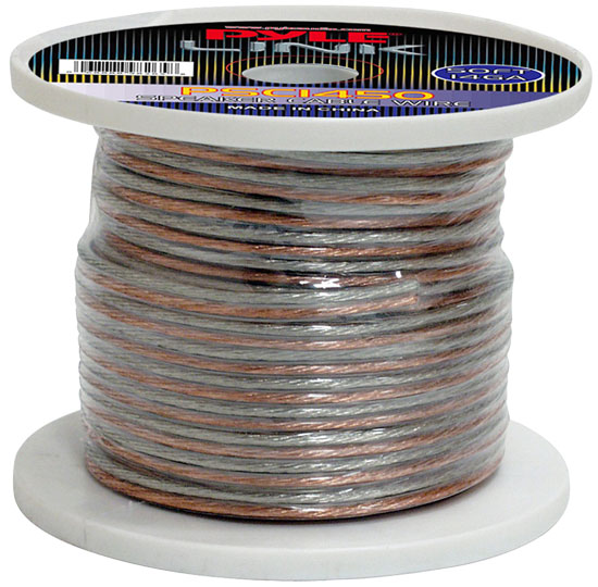 Pyle - PSC1450 , Car Audio , Audio / Video Cables And Accessories , Speaker Cables , 14 Gauge 50 ft. Spool of High Quality Speaker Zip Wire