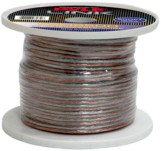Pyle - PSC16500 , Car Audio , Audio / Video Cables And Accessories , Speaker Cables , 16 Gauge 500 ft. Spool of High Quality Speaker Zip Wire