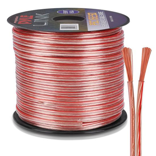 Pyle - PSC18250 , Home and Office , Cables - Wires - Adapters , Sound and Recording , Cables - Wires - Adapters , 18 Gauge 250 ft. Spool of High Quality Speaker Zip Wire