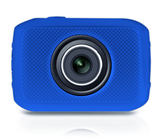 Pyle - PSCHD30BL , Personal Electronics , Camera & Photo , High-Definition Sport Action Camera with 720p Wide-Angle Camcorder, 5.0 MP Camera, 2-Inch Touch Screen, Micro SD Card Slot, Waterproof Case and Mounting Gear for Biking, Riding, Racing, Skiing and Water Sports (Blue color)