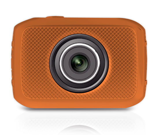 Pyle - PSCHD30OR , Gadgets and Handheld , Action and Outdoor Cameras , High-Definition Sport Action Camera with 720p Wide-Angle Camcorder, 5.0 MP Camera, 2-Inch Touch Screen, Micro SD Card Slot, Waterproof Case and Mounting Gear for Biking, Riding, Racing, Skiing and Water Sports (Orange Color)