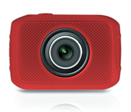 Pyle - PSCHD30RD , Gadgets and Handheld , Action and Outdoor Cameras , High-Definition Sport Action Camera with 720p Wide-Angle Camcorder, 5.0 MP Camera, 2-Inch Touch Screen, Micro SD Card Slot, Waterproof Case and Mounting Gear for Biking, Riding, Racing, Skiing and Water Sports (Red color)