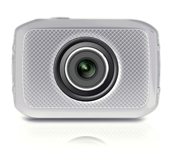 Pyle - PSCHD30SL , Gadgets and Handheld , Action and Outdoor Cameras , High-Definition Sport Action Camera with 720p Wide-Angle Camcorder, 5.0 MP Camera, 2-Inch Touch Screen, Micro SD Card Slot, Waterproof Case and Mounting Gear for Biking, Riding, Racing, Skiing and Water Sports (Silver color)